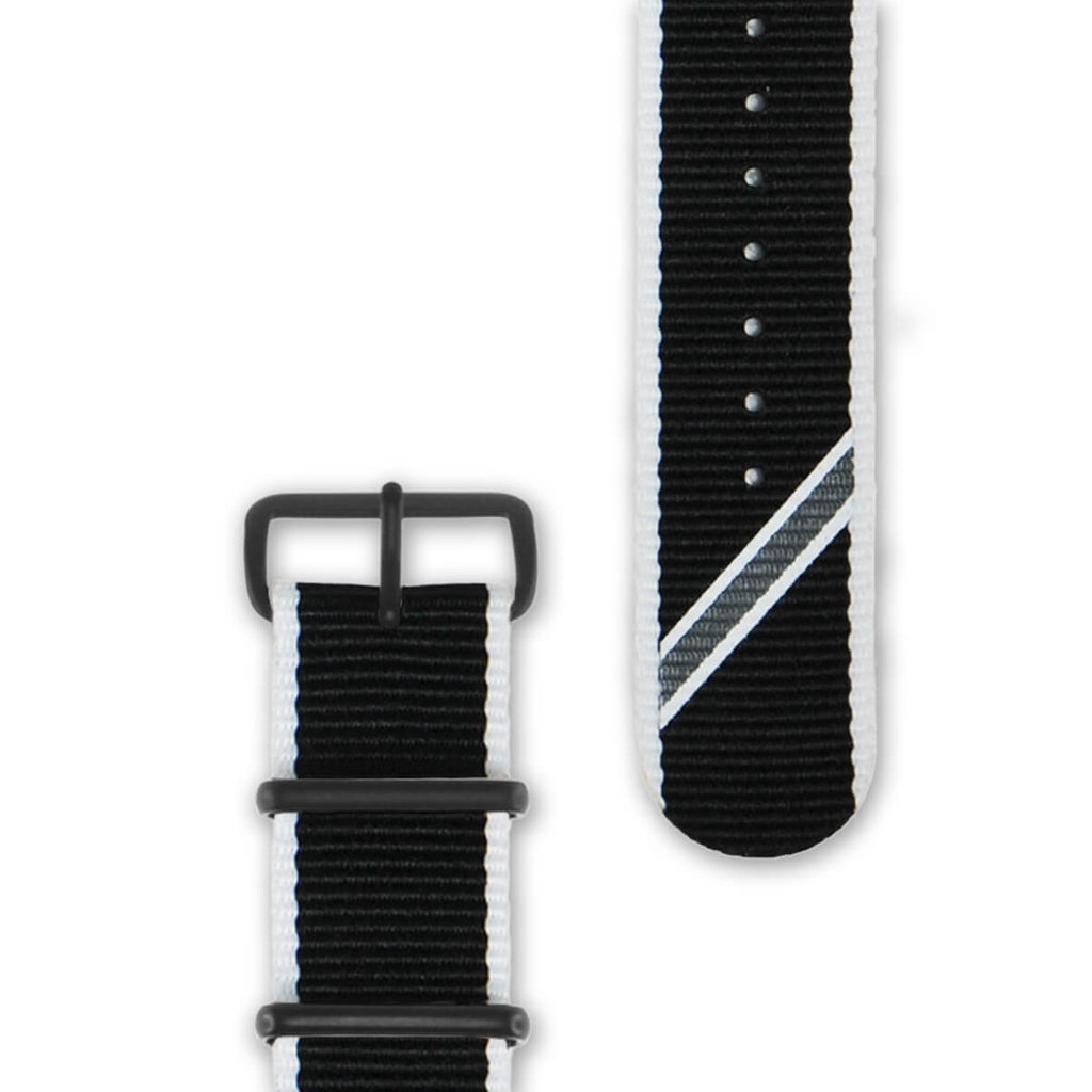 Straight Jacquard Mono Strap | 20mm - quality watches made affordable by HYPERGRAND