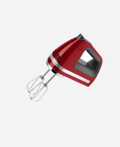 KitchenAid 5KHM720A 70-Watt 7-Speed Hand Mixer (Red)