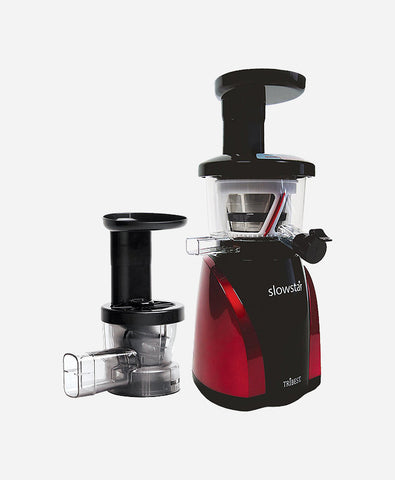 Tribest Slowstar Slow Juicer with Juice Cap and Mincer Model SW-2000