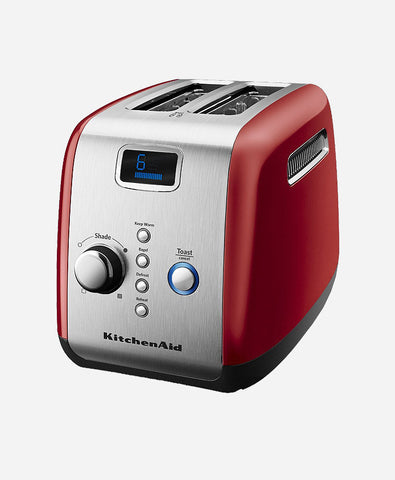 KitchenAid 5KMT223GER 1100-Watt 2-Slice Pop-up Toaster (Empire Red)