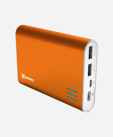 Jackery Giant+ Premium Fast Charging 12000mAH Portable Charger (Ornage)