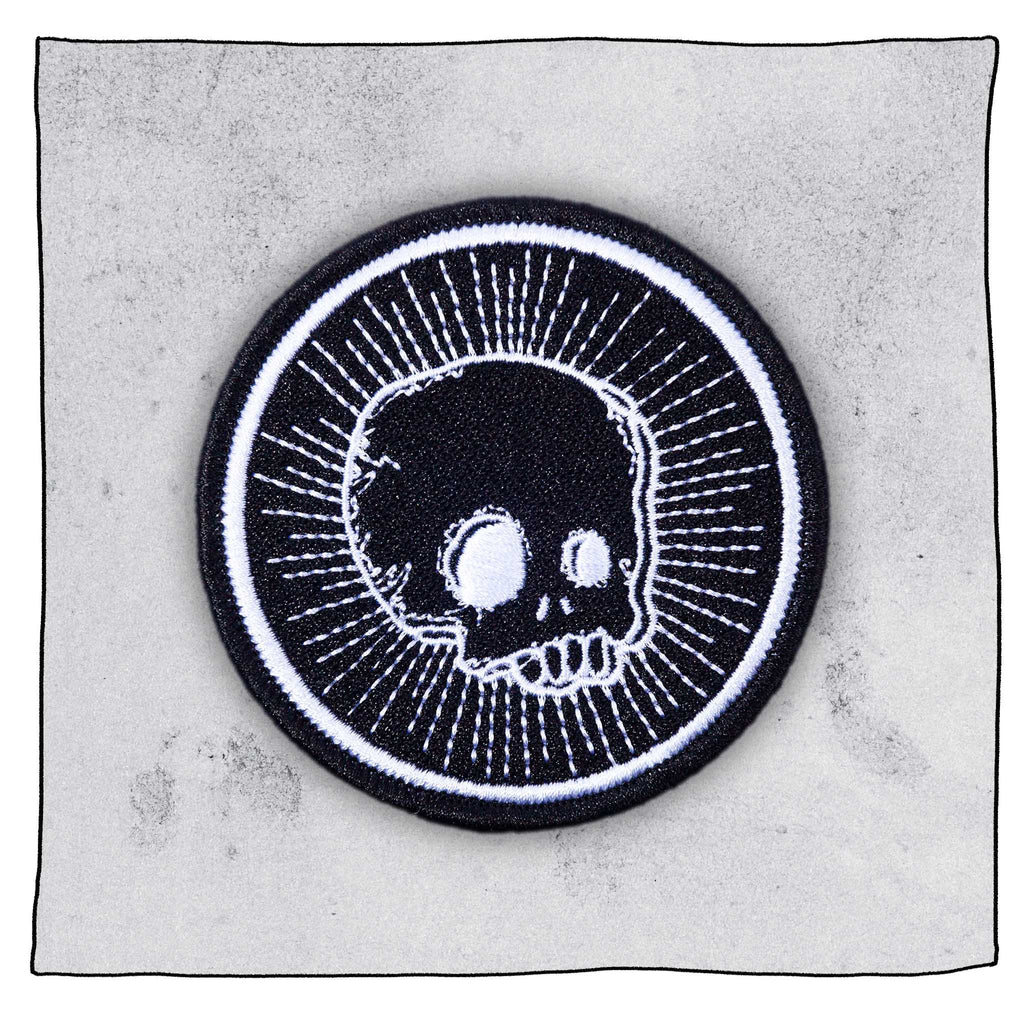 Beavertown Skull - Embroidered Patch