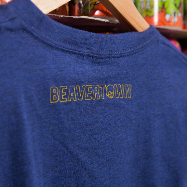 Beavertown London T Shirt - Dark Blue