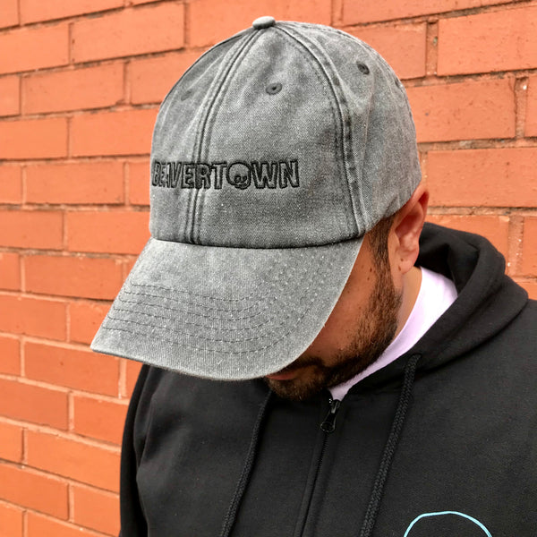 Beavertown Black Embroidered Snapback - Hat