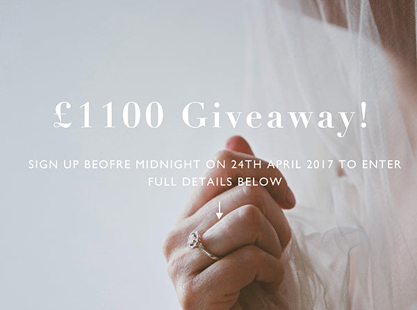 £1100 Audrey Claude Giveaway! {COMPETITION ENDED}