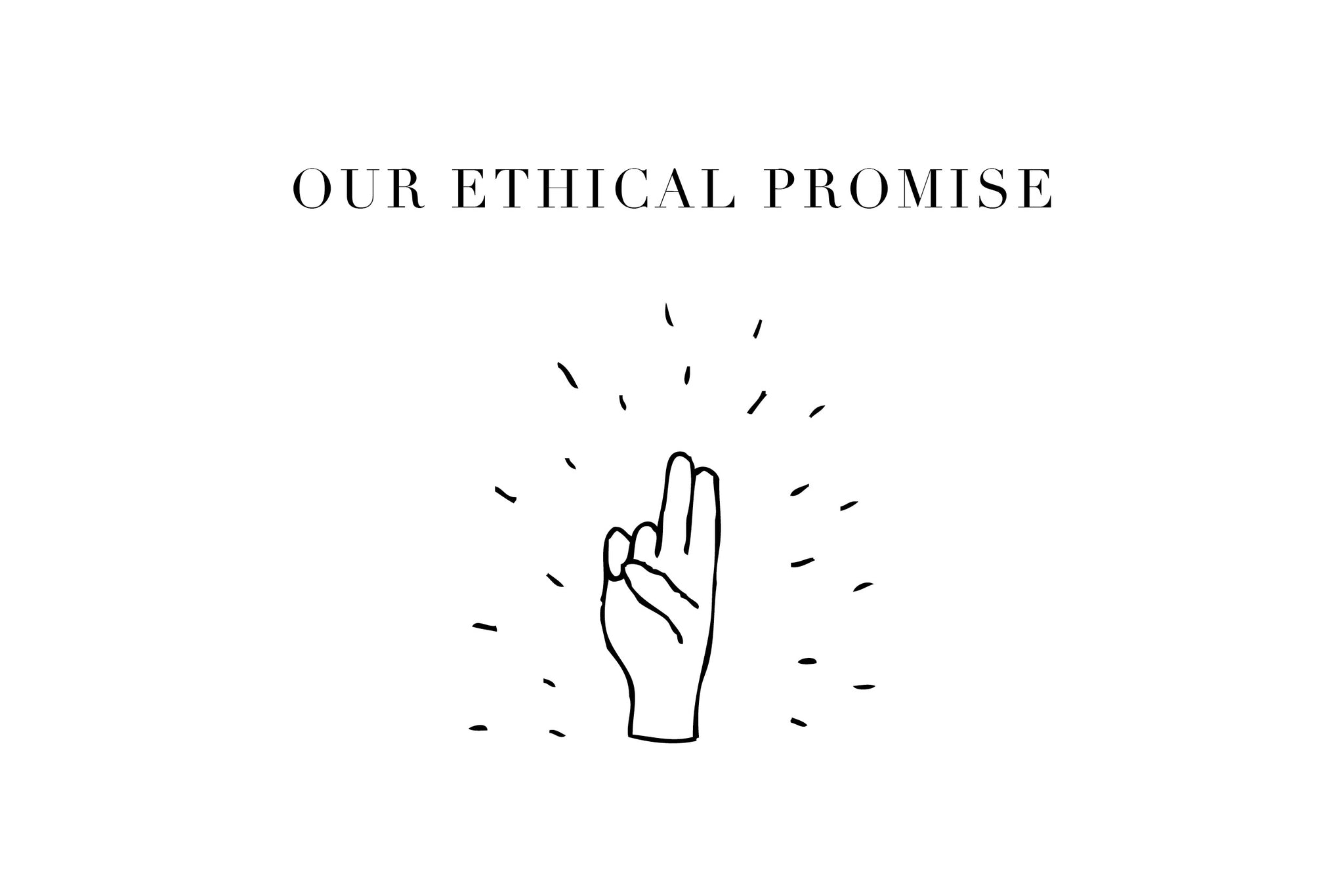 Audrey Claude Jewellery's ethical promise