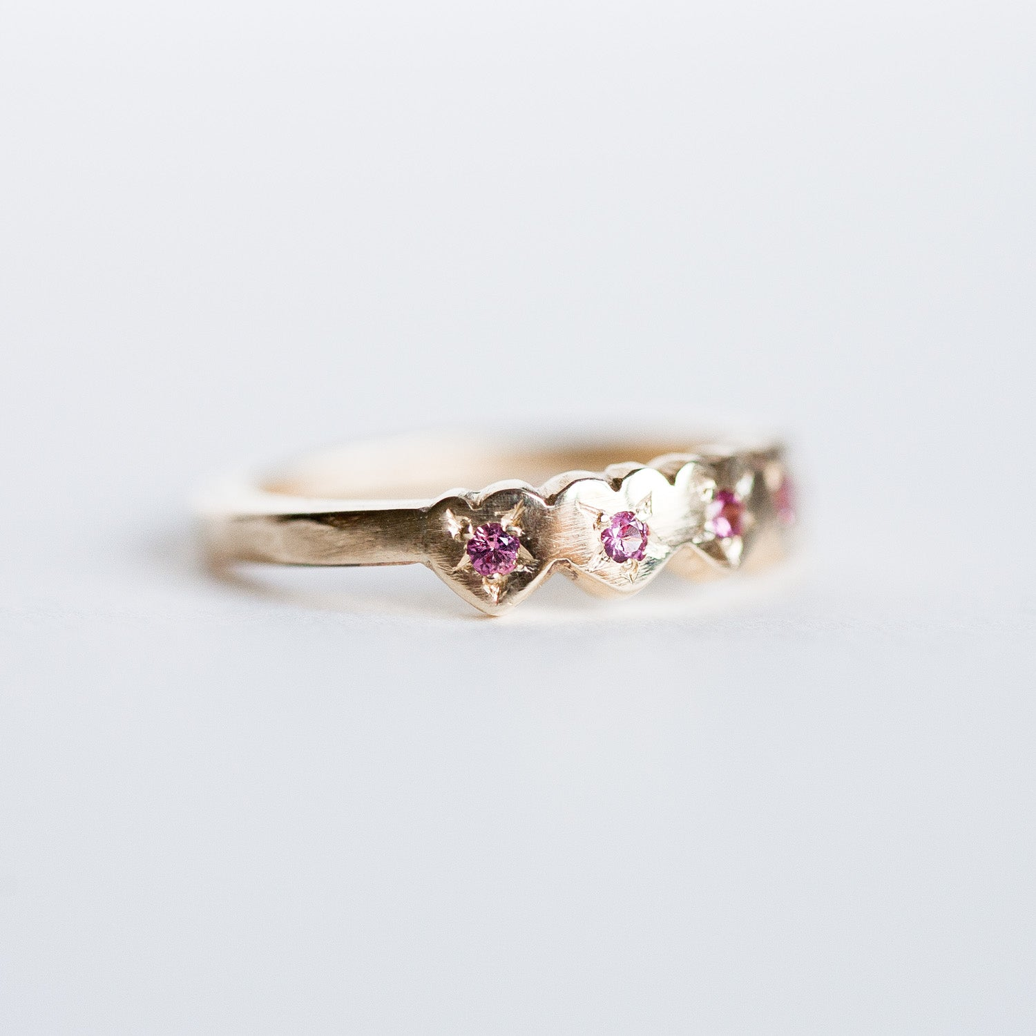 Ruby Heart ring
