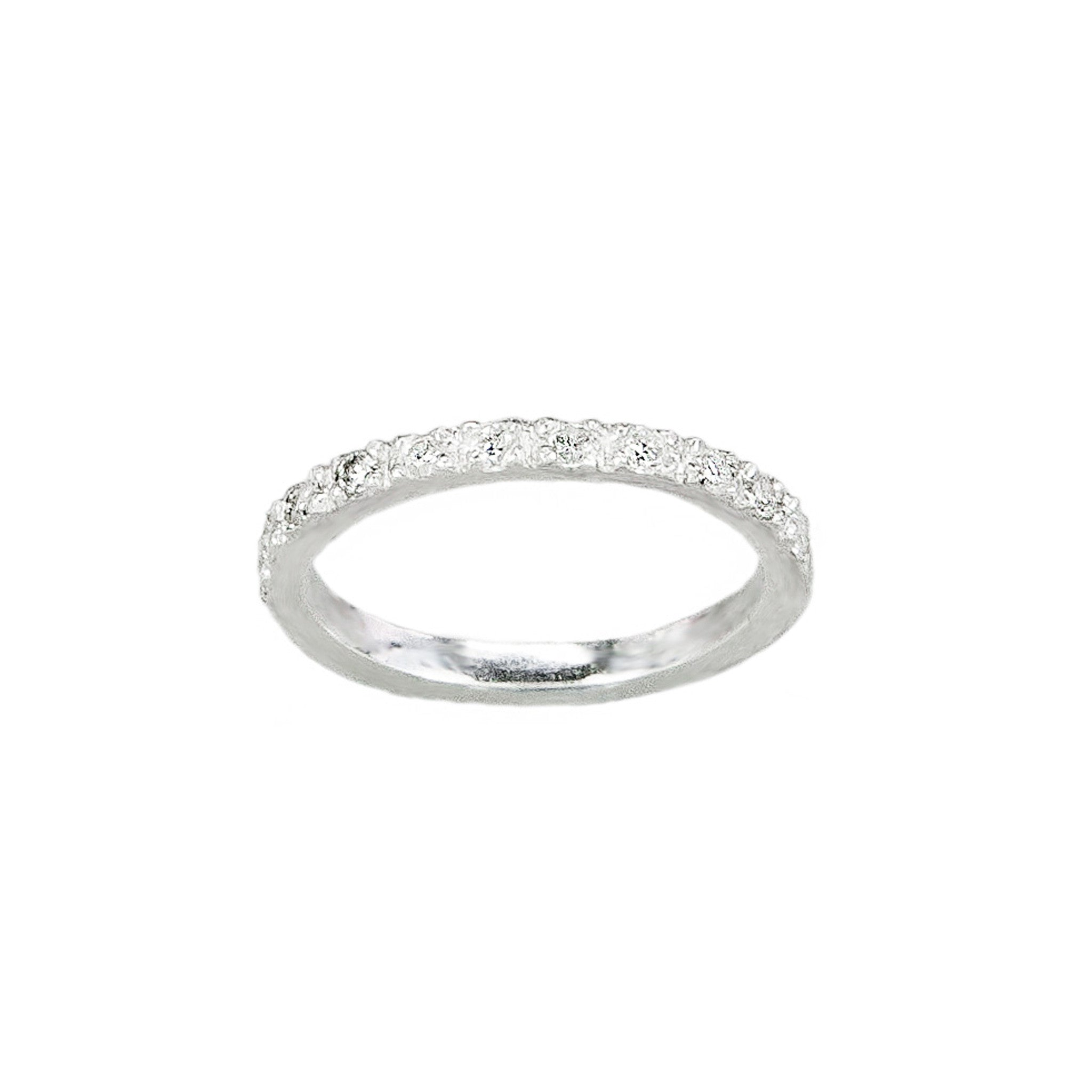 Half Eternity Wedding Band