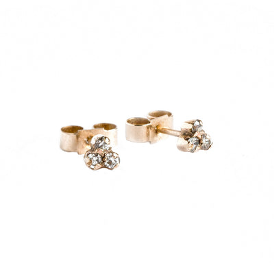 Box of Light Diamond Trio Stud Earrings