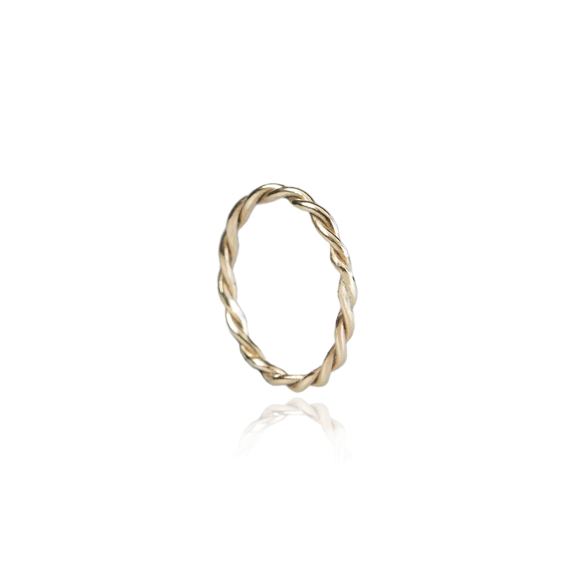 Celeste Twisted Band - 18ct Yellow Gold