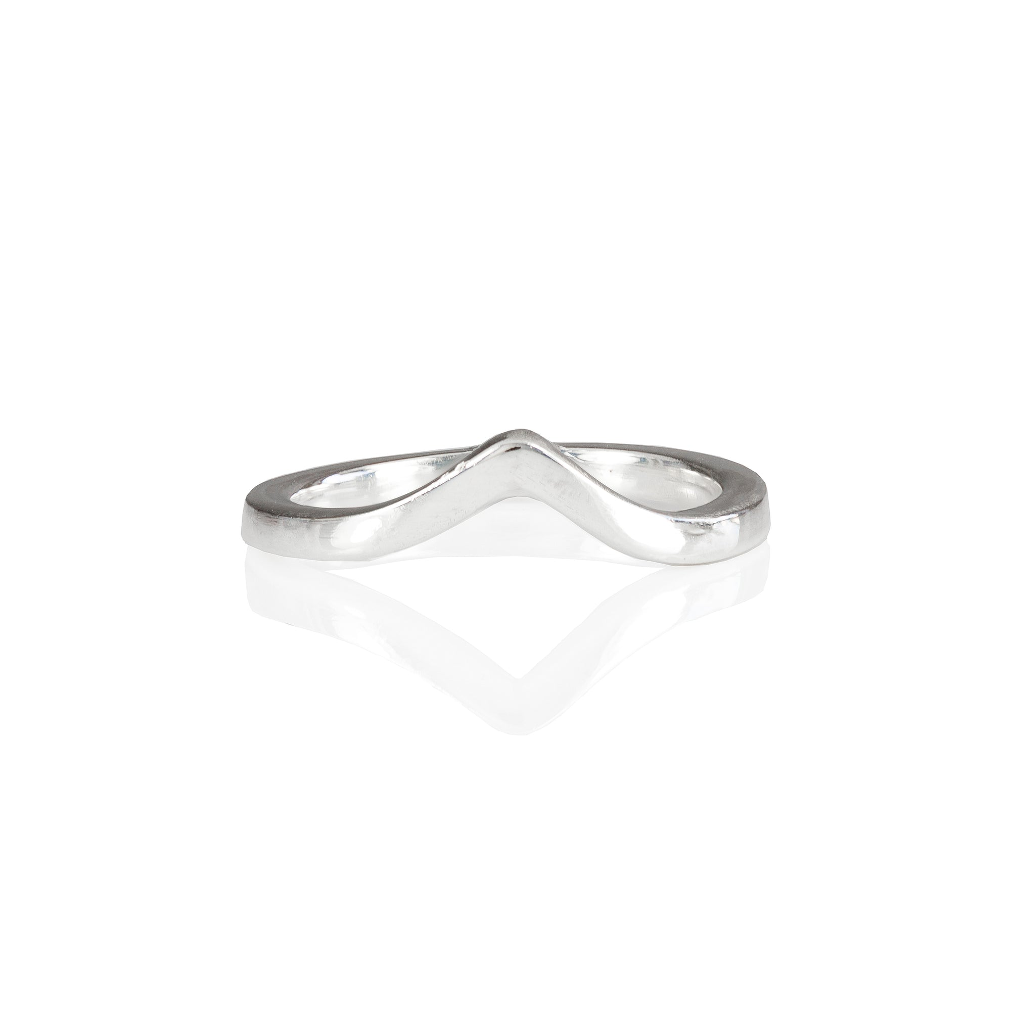 Wishbone Ring in 18ct Gold