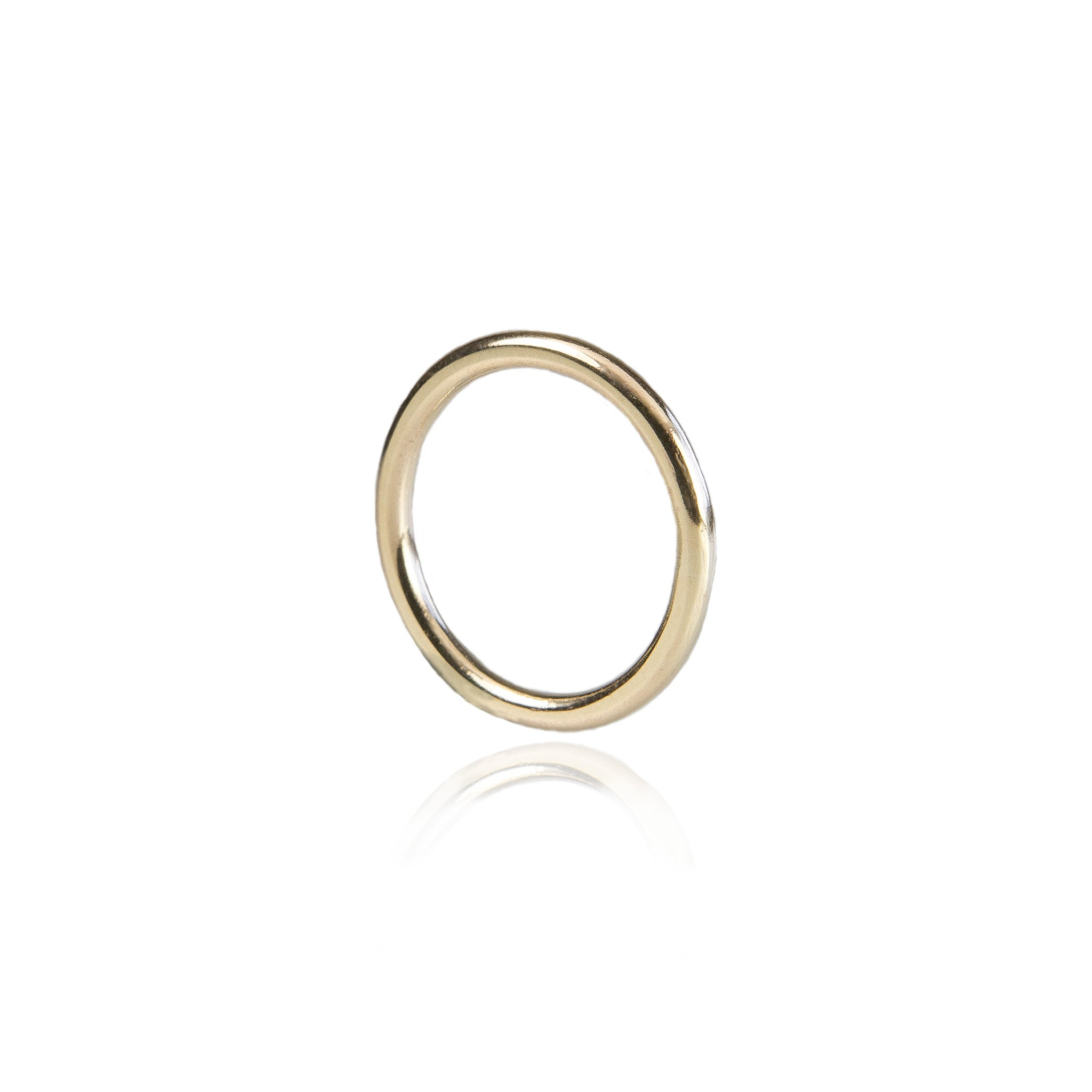 2mm halo wedding ring 18ct yellow gold - Halo Wedding Ring