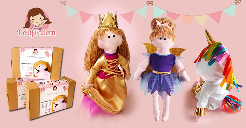 make a rag doll sewing patterns