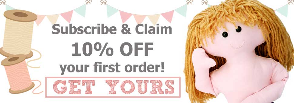 Claim 10% off your first order with Dolly Pattern