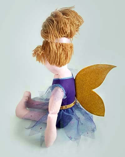 make a fairy raggy doll Dolly pattern