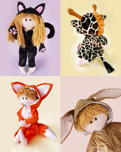 Animal Collection + FREE Doll pattern