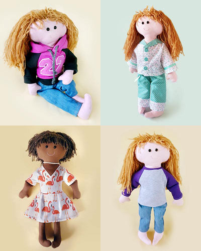 Casual Collection + FREE Doll pattern