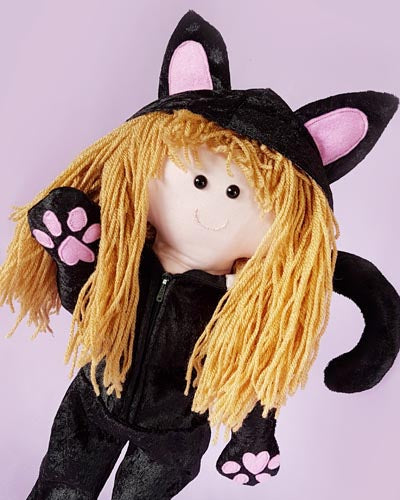Cat Rag Doll Costume Pattern