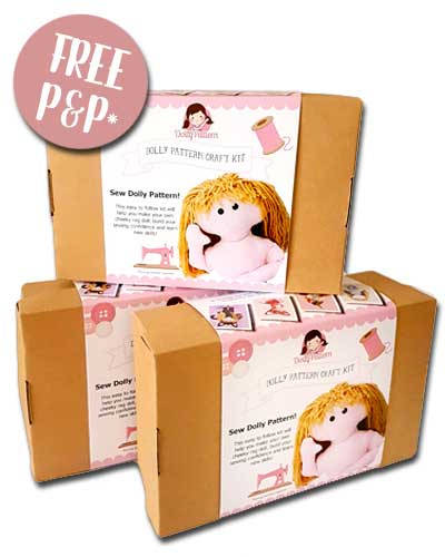 Dolly Making Kit and FREE Party Dress Pattern