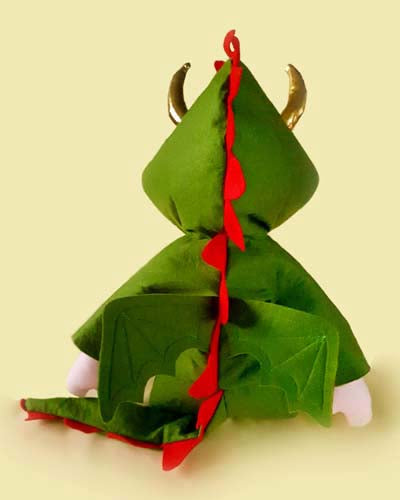 Dragon Rag Doll costume Pattern