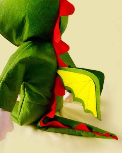 dolly pattern make a dragon costume