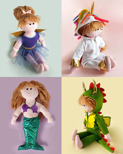 Fantasy Collection + FREE Doll pattern