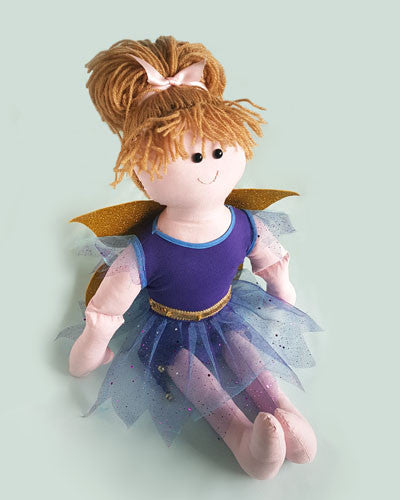 Rag Doll in Fairy Costume to make