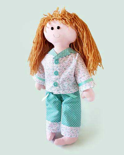 Dolly and Pyjamas Starter Pattern