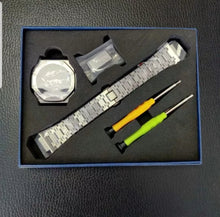 Load image into Gallery viewer, G-SHOCK GA-2100 'CasiOak' 3rd Gen Steel Mod kit with tools - SwissWatchers