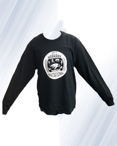 Black Track and Field Long Sleeve 2 for $20