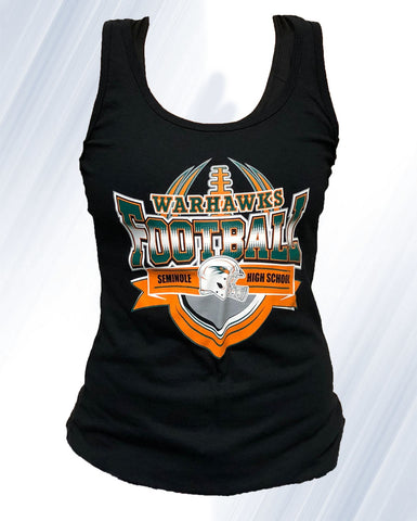 Warhawk Football Tank tops (Black)