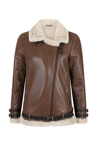 The Hudson | Brown & Cream | Womens