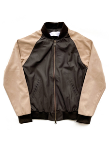 The Varsity | Brown Leather