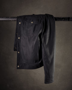 The Reed | Black Leather