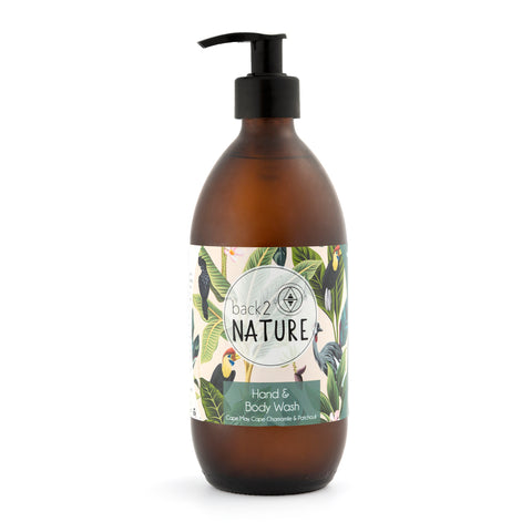 Hand & Body Wash, 500ml I Cape may, cape chamomile & patchouli