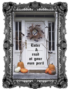 Enter & Read At Your Own Risk!