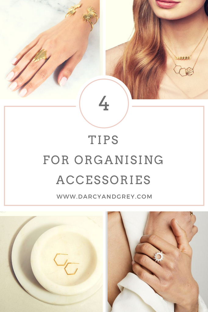 Tips For Organising Accessories