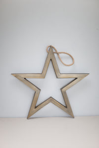 Antique Brass hanging star - m-use