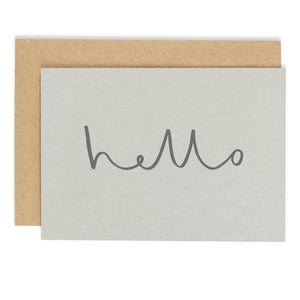 Hello - Notecard/Postcard Set - m-use
