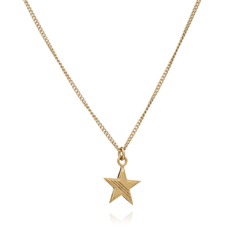 Star Charm Necklace - gold - m-use