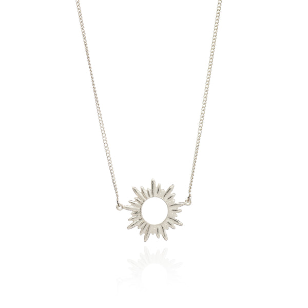 Sunrays Necklace Small - silver - m-use
