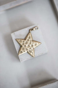 Large Star Charm Gold