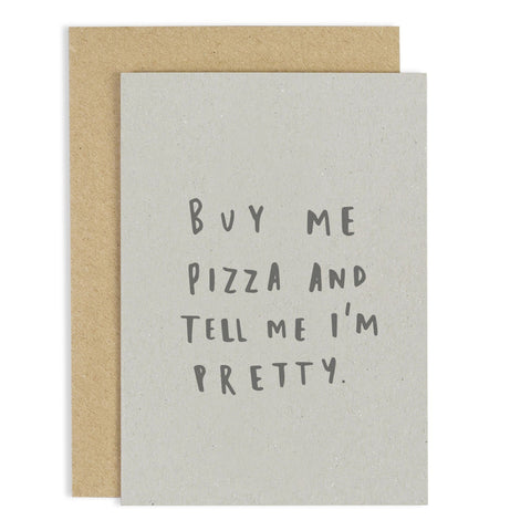 Buy Me Pizza Card - m-use