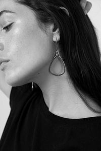 Haven Earrings - Silver - m-use
