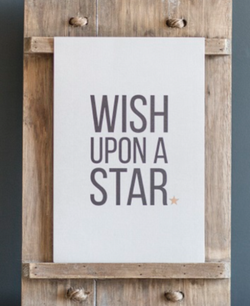 "Wish Upon A Star"" print  - small - m-use"