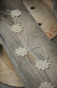 Snowflake Bunting - stone - m-use