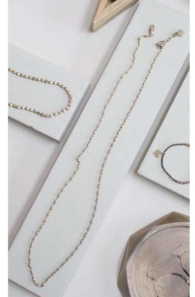 Gold Chain Necklace - gold - m-use