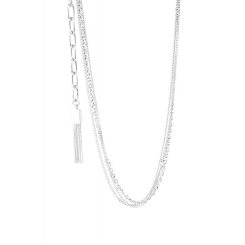 River necklace - silver - m-use