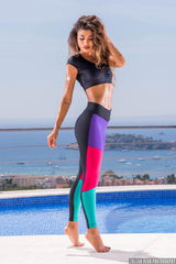 BLUE MACAW LEGGINGS a