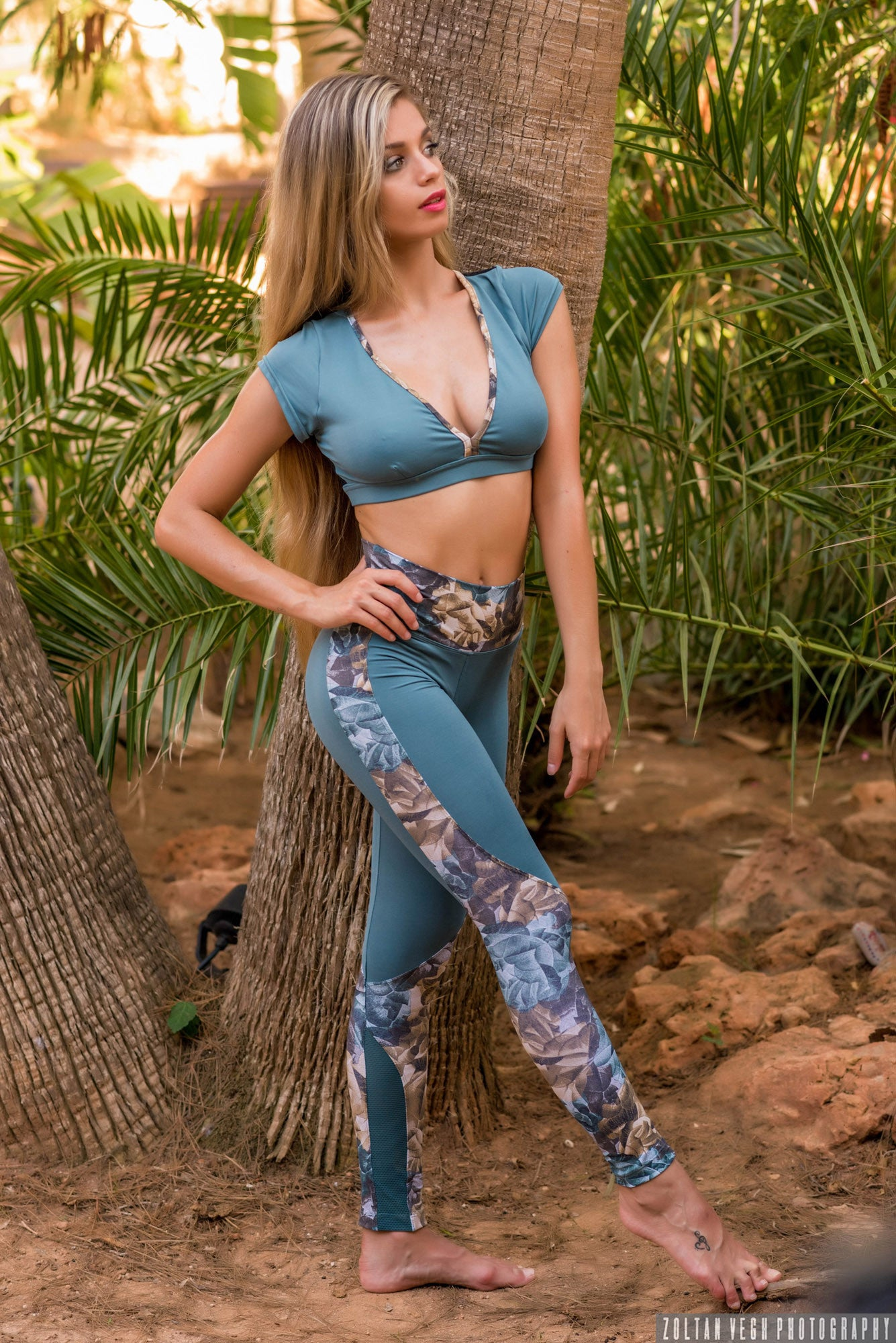 NATURE SET TOP LEGGING